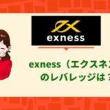 exness(エクスネス)レバレッジ